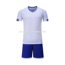 OEM fabricante jersey de fútbol nuevo modelo precio barato niños jugador fútbol uniforme