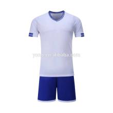 OEM fabricante camisa de futebol novo modelo barato preço crianças jogador uniforme de futebol