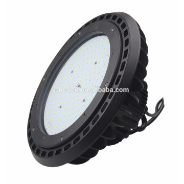 SNC industrial 150w UFO highbay light led crommercial light with glass cover and lens