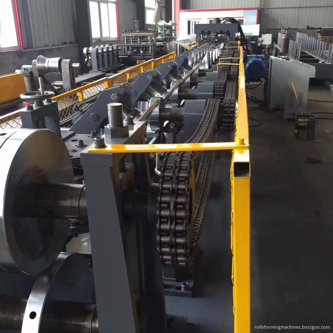 CZ Purline Steel Frame Interchangeble Purlin Machine