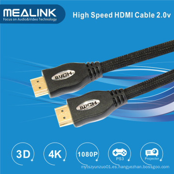 Cable 4k HDMI V1.4, Soporte 3D