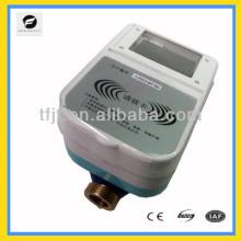 Medidor pré-pago DC3.6V, medidor de controle remoto do medidor de água do cartão IC para água fria