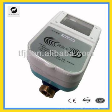 Medidor prepago DC3.6V, medidor de control remoto de agua caliente IC Card para agua fría