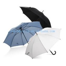 Mango curvo paraguas recto para lluvia