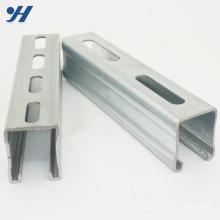 Matériaux de construction Acier inoxydable C canal purlin, canaux unistrut, canal c fendu