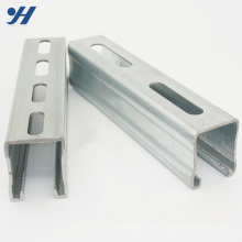 Building Materials Stainless Steel c channel purlin, unistrut channels, slotted c channel