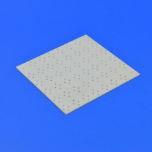 Thin Thickness Ceramic Substrate With 0.1mm Diameter Holes
