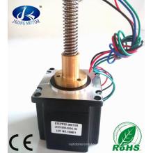 Linearer Schrittmotor NEMA23 mit 500mm Gewindespindel, verstellbare Gewindestange