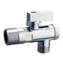 J7005 brass angle valve chrome nickel plated