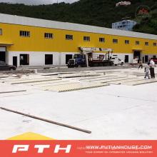 2015 Estructura de acero prefabricada personalizada Almacén
