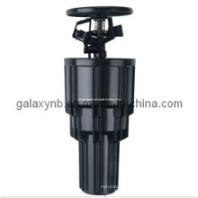 Aspersor de impulso de pop-up de irrigação plástico