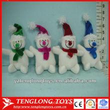 Weihnachtsgeschenke Plüsch Weihnachtsmann Dekoration Spielzeug mit verschiedenen Farben