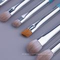 Ensemble de 13 pinceaux de maquillage magnétiques en bois bleu