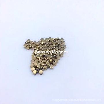 Neodym-Magnetblock für die Industrie mit Goldbeschichtung