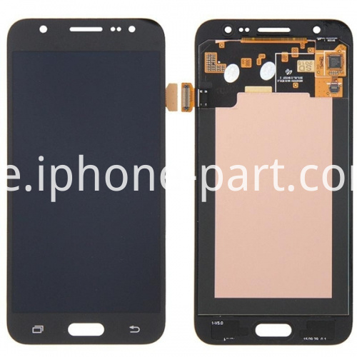j2 screen black