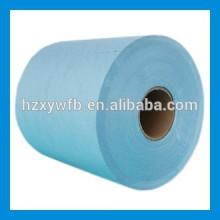 Kreuz Läppen / Parallel Spunlace Polyester & Cellulose Vliesstoff