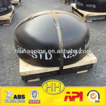carbon steel large diameter pipe end cap