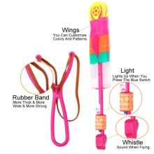 LED seta de voar voar de helicóptero para crianças