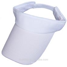 pure white mesh sun visor