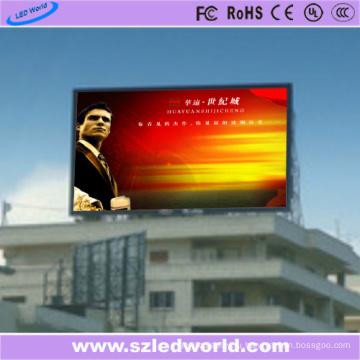Напольная высокая Яркость P10 полноцветный светодиодный цифровой фиксированный/Электронное табло для рекламы