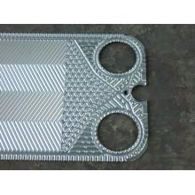 Пластина теплообменника с резиновой прокладкой Vicarb Vu8