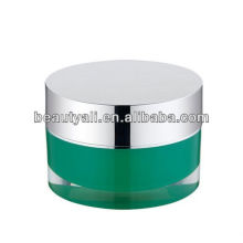 Luxury Cosmetic Acrylic Cream Jar 2ml 5ml 10ml 15ml 20ml 30ml 50ml 100ml 150ml 300ml