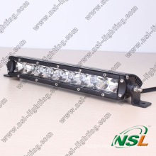 Car Accessory, Led Light Bulb 4x4, Single Row 50w 10 Inch off Road Led Light Bar Cree for ATV Auto Part
