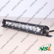 Car Accessory, Led Light Bulb 4x4, Single Row 50w 10 Inch off Road Led Light Bar Cree for ATV Auto Part