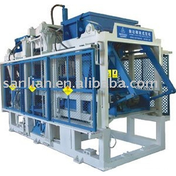 QFT10-15 hollow block machine (with Double Hoppers)