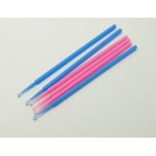 Desechables coloridos plásticos mango eyeliner cepillo