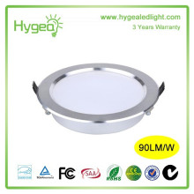 Round Shape LED Downlight Anti fog Downlight 3years warranty AC 85-277V led downlight 15W Ceiling downlight