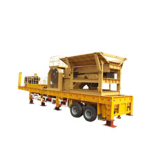 Hot Sale Mobile Wheeled Jaw Crusher