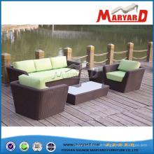Sofá secional sofá mobiliário ao ar livre