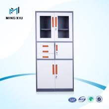 Luoyang Mingxiu Metal Storage Filing Cabinet 2 Door Glass Steel Office Cabinets