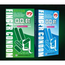 Приятный палец для презерватива