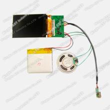 Brochure vidéo promotionnelle, lecteur vidéo LCD