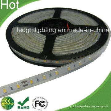24V Samsung 5630 60LEDs / M Faixa de LED Flexível 5630 Branco Quente
