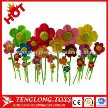 Горячий цветок способа сбывания симпатичный цвет плюша стороны усмешки