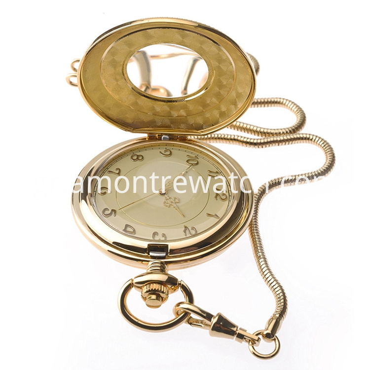 gold pocket watch