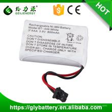 batteries de prix usine de haute qualité BT446 3.6V 800mAh pour UNIDEN