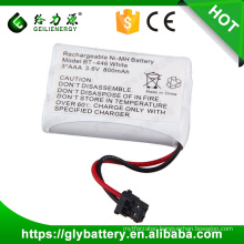 high quality factory price batteries BT446 3.6V 800mAh for UNIDEN