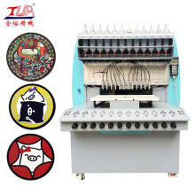 China for China Pvc Label Dispensing Machine, Pvc Badge Dispensing Machine, 8 Color Pvc Dispensing Machine, PVC Cup Coaster Dispensing Machine Manufacturer High Precision Plastic Cup Coaster Making Machine export to United States Manufacturer