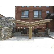 Carpa de aluminio durable del carport, jardín al aire libre Carport usado, refugio del coche del policarbonato