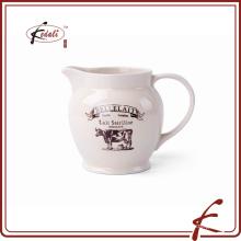 Fábrica de cerámica de jarra de leche hecho directamente en China