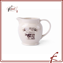 ceramic milk jar factory directly made in China