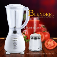 Factory Price New Design 3 Speeds 1.5L Plastic Jar 2 In 1 Electric Soybean Blender