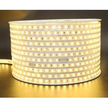 110В/220В теплый белый цвет свечения и СИД гибкого трубопровода Тип прокладки новые светодиодные полосы света