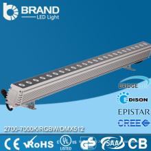 Extérieur Utilisation de haute qualité pour le projet DMX512 Controller RGB 36x3W LED Wall Washer