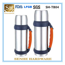 2016 Hot Sale Double Wall S/S Vacuum Travel Pot with Handle (SH-TB04)