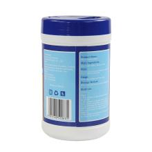 Lingettes humides désinfectantes jetables pour tissus non tissés